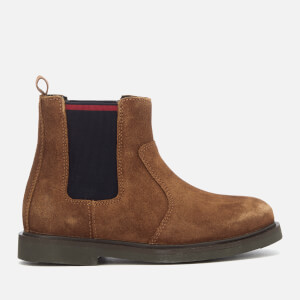 Polo Ralph Lauren Kids' Glaston Suede Chelsea Boots - Snuff