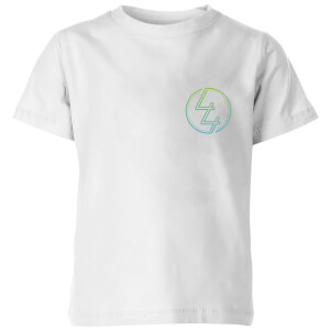 How Ridiculous 44 Pocket Emblem Colour Kids' T-Shirt - White