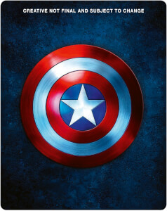 Captain America 1 - 3 - Zavvi Exclusive Steelbook