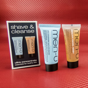 men-ü Shave & Cleanse Duo 2x15ml (Free Gift)