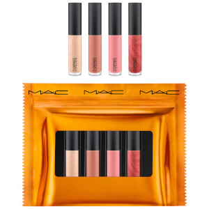 MAC Shiny Pretty Things Party Favours Mini Lip Glosses - Nude (Worth £40)