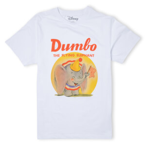 Disney Dumbo Flying Elephant T-Shirt - White