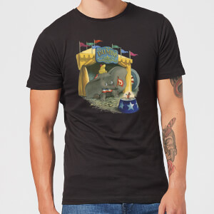 Dumbo Circus Men's T-Shirt - Black