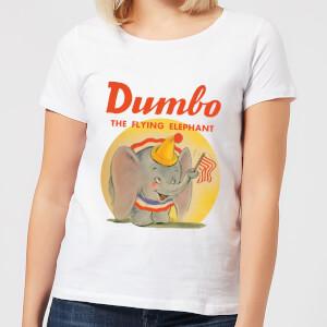 Dumbo Flying Elephant Women's T-Shirt - White