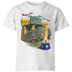 T-Shirt Enfant Cirque Dumbo Disney - Blanc