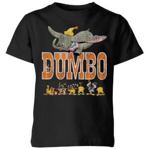 Camiseta Disney Dumbo The One The Only - Niño - Negro