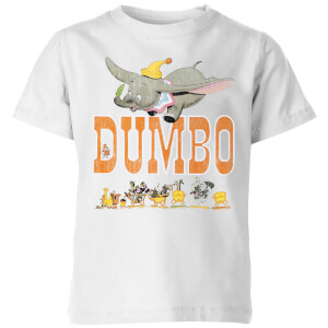 Camiseta Disney Dumbo The One The Only - Niño - Blanco