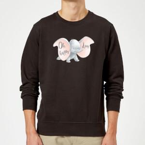 Dumbo Happy Day Pullover - Schwarz