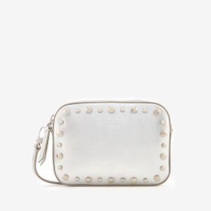 Tod's Women's Gommini Camera Bag - Silver