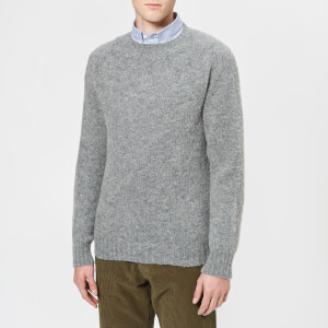 Howlin' Men's Birth Of The Cool Crew Neck Knitted Jumper - Mid Grey