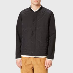Folk Men's Wadded Contour Jacket - Black