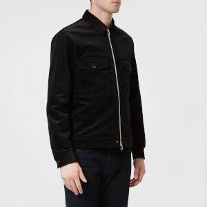 PS Paul Smith Men's Cord Zipped Jacket - Black