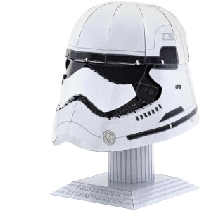 Metal Earth Star Wars First Order Stormtrooper Helmet 3D Metal Model Kit