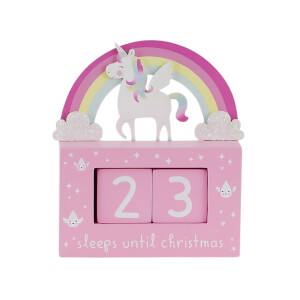 Sass & Belle Unicorn Advent Calendar Block