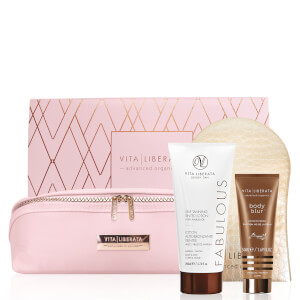 Vita Liberata Fabulous Medium Lotion Set - Pink Bag