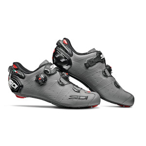 Sidi Wire 2 Carbon Matt Road Shoes - Matt Grey/Black