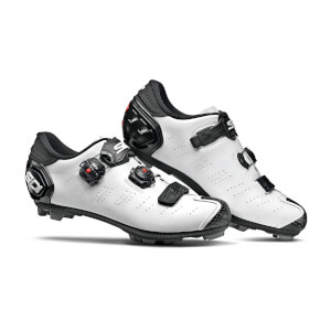 Sidi Dragon 5 SRS MTB Shoes - White/Black