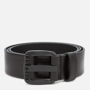 Diesel Men's B-Star Leather Belt - Black