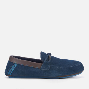 Ted Baker Men's Valcent Suede Moccasin Slippers - Dark Blue