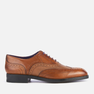 Ted Baker Men's Almhano Leather Brogues - Tan