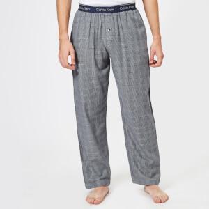 Calvin Klein Men's Sleep Pants - Maple Plaid Bold Navy