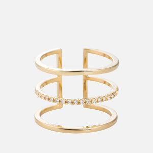 Astrid & Miyu Women's Triple Bewitched Ring - Gold