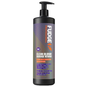 Fudge Clean Blonde Damage Rewind -shampoo 1000ml