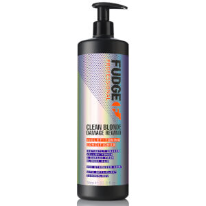 Acondicionador reparador Clean Blonde Damage Rewind de Fudge 1000 ml