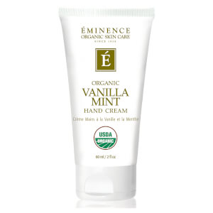 Eminence USDA Vanilla Mint Hand Cream 2oz
