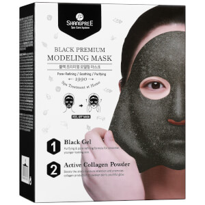 SHANGPREE Black Premium Modeling Mask with Bowl and Spatula 50 ml