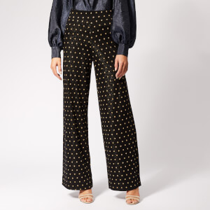 Stine Goya Women's Magic Trousers - Dots Black