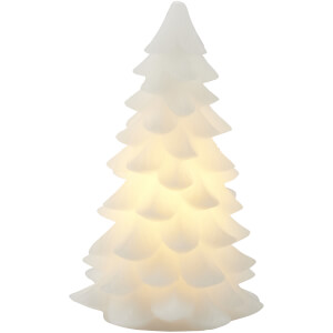Sirius Carla Wax Light Up Christmas Tree - 19cm