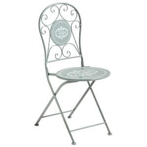Premier Housewares Cafe Cassis Chair - Grey