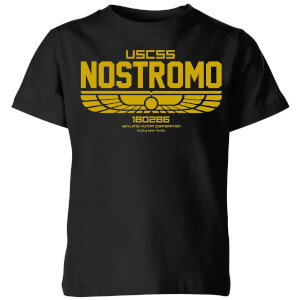 Alien USCSS Nostromo Kids' T-Shirt - Black