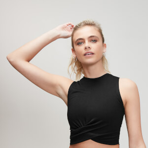 Energy Crop Top - Schwarz