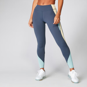 Leggings Power Deluxe - Indaco