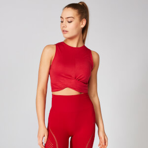 Energy Crop Top - Crimson