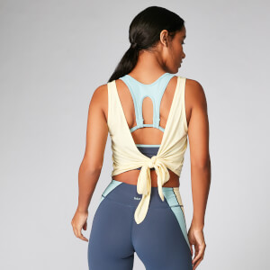 MP Tie-Up Vest - Lemon