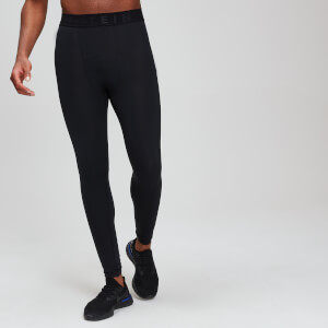 Leggings sportivi attillati MP Essentials Base da uomo - Neri