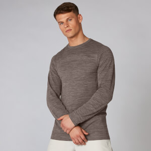 Aero Knit Long-Sleeve T-Shirt - Driftwood Marl