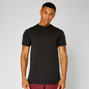 Lightweight Seamless T-Shirt - Black Marl