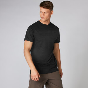 Aero Knit T-Shirt - Black Marl