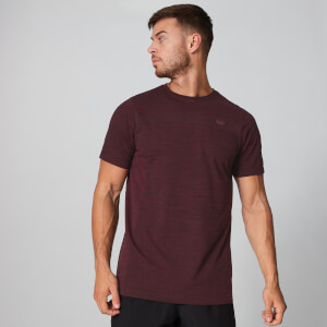 MP Men's Lightweight Seamless T-Shirt - Oxblood Marl