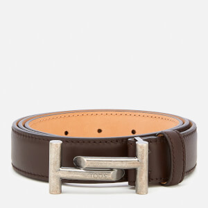 Tod's Men's Double T Portofino Belt - Brown