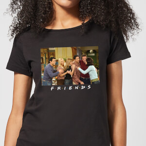 Friends Cast Shot Women's T-Shirt - Black