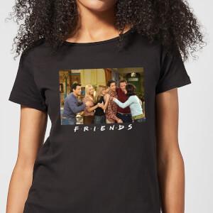 Friends Cast Shot Damen T-Shirt - Schwarz