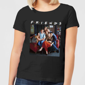 Friends Classic Character Women's T-Shirt - Black