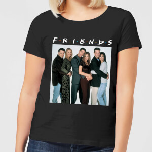 Friends Group Shot Damen T-Shirt - Schwarz