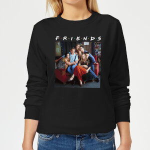 Friends Classic Character Women's Sweatshirt - Black