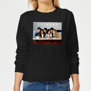 Friends Milkshake Women's Sweatshirt - Black